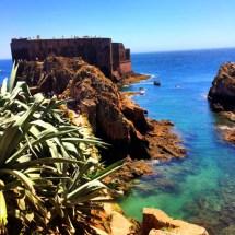 Berlenga Fort from afar