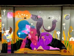 Street Art subway