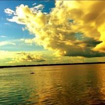Amazon storm clouds