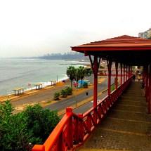 Barranco beach walkway
