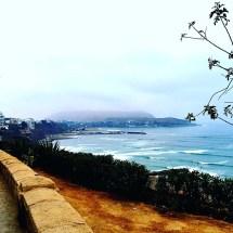 Lima cliff walk