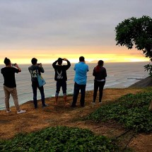 Lima's intoxicating sunsets