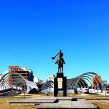 Cordobas Bridges and Blue Sky
