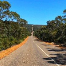 Road to Flinders Chase