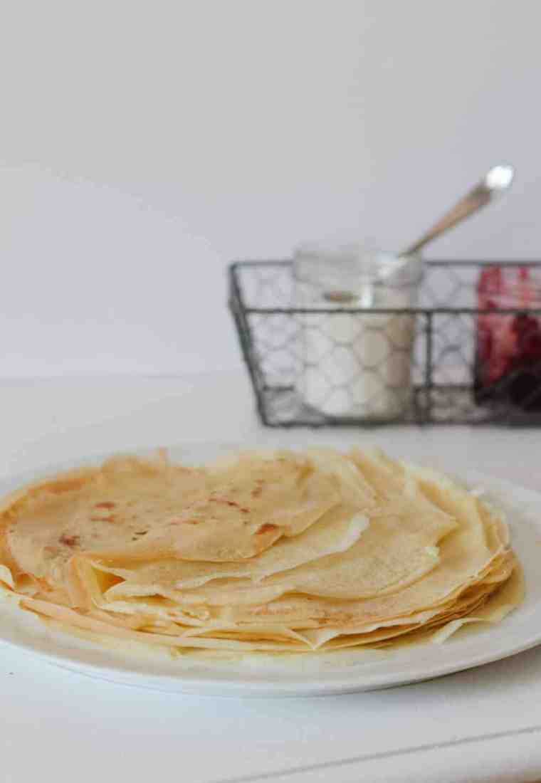 Oat Milk French Crêpes