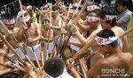 麦餅つき祭り1