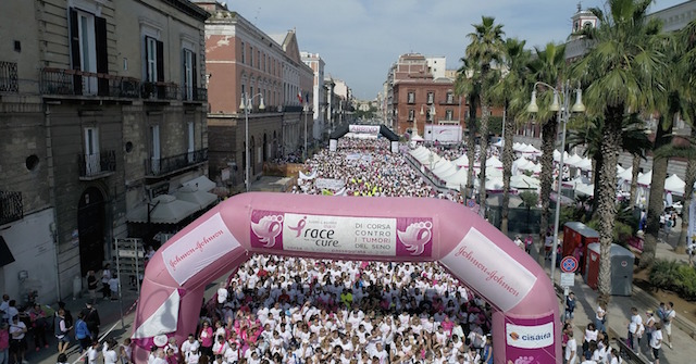 Race For The Cure Torna A Bari La Più Grande Manifestazione Per La Lotta Al Tumore Al Seno Bonculture