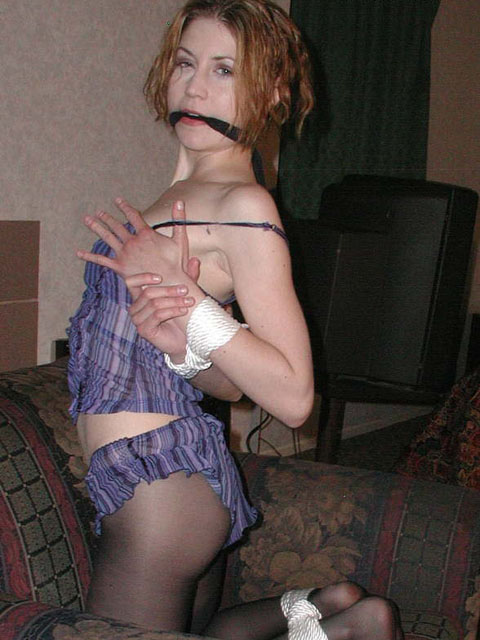 Frisky Girl from Slovakia gets tied up by her Boyfriend