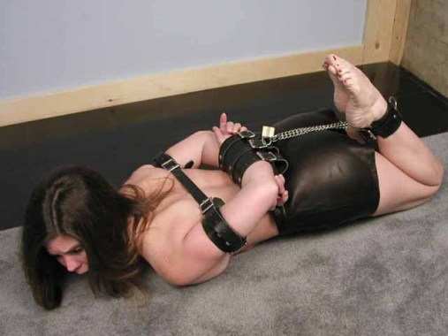 Horny young Girlfriends tightly bound and gagged