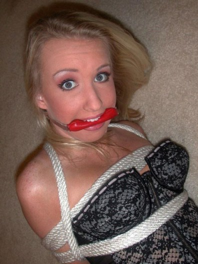 Hot and wet Amateurs enjoy being tied and gagged