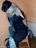 Playful Girlfriends blindfolded, gagged and bound