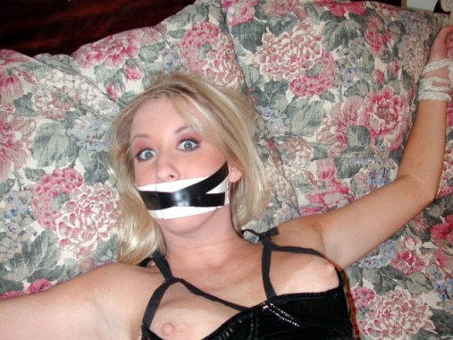 Sexy young Girls enjoy being bound and helpless