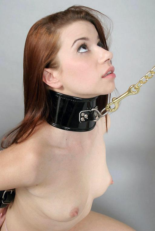 Remarkable, girl leash on slave collar blowjob necessary words