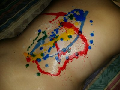 The result of TerrificTeez's wax scene