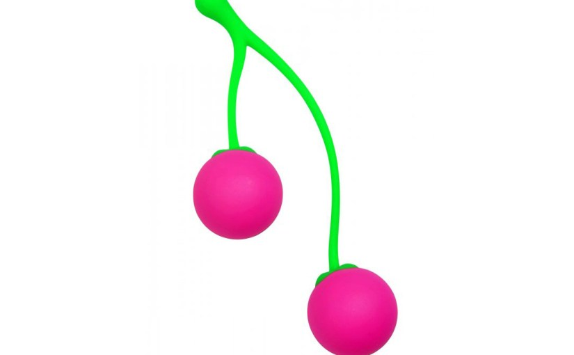 Frisky Charming Cherries Kegel Balls Exercisers