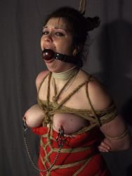 Cute Slave Gets Bound and Punished Hard by Her Two Cruel Mistresses