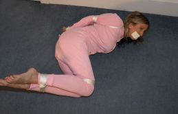 Hot Blond Girlfriend Bound, Gagged and Humiliated for Punishment