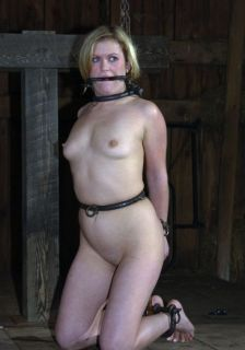 Sexy Slave Gets Restrained, Penetrated and Humiliated Hard
