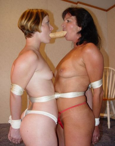 Two Hot Amateurs Tightly Bound and Dominated for Punishment