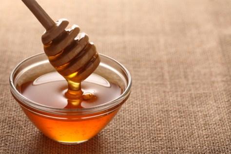 dish-of-honey-on-burlap