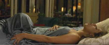 Friends with Benefits oral sex under bedsheet