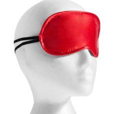 Soft Plush Red Blindfold Mask from Bondara
