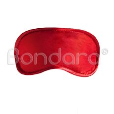 Silk Blindfold Mask - Red