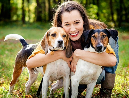 Resultado de imagem para pessoas com animais de estimação