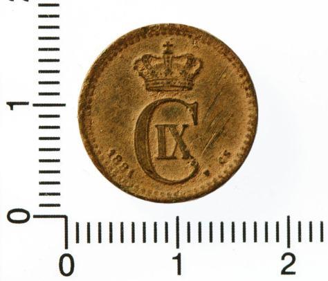 1 øre 1881