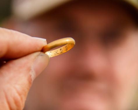 En nordmand og hans guldring