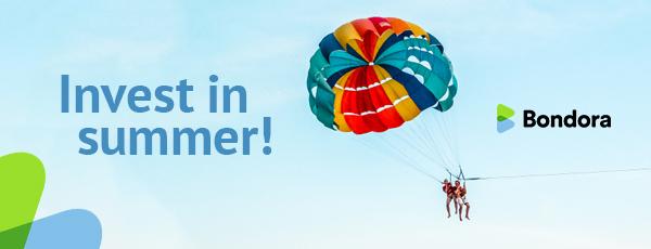 Invest in Summer Facebook campaign - Bondora