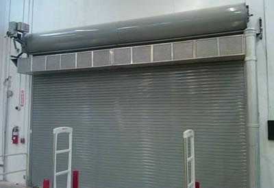 industrial direct drive air curtain