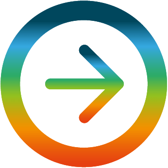 ARROW ICON MULTICOLOR