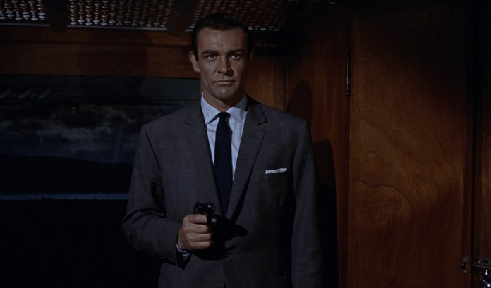 Somerset's Grey Pick-and-Pick Suit in From Russia with Love – Bond Suits