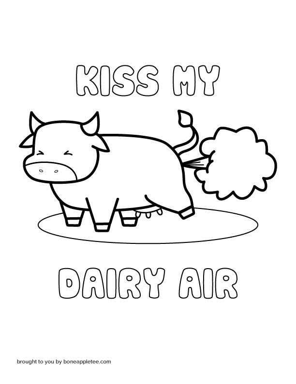 Kiss My Dairy Air