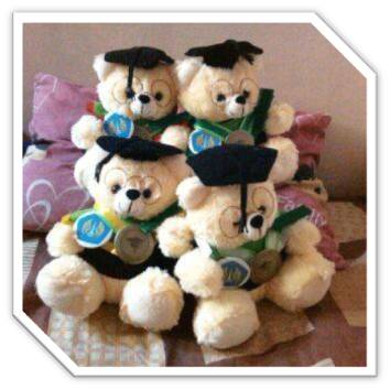 boneka wisuda teddy bear
