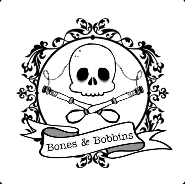 Bones and Bobbins Podcast Logo