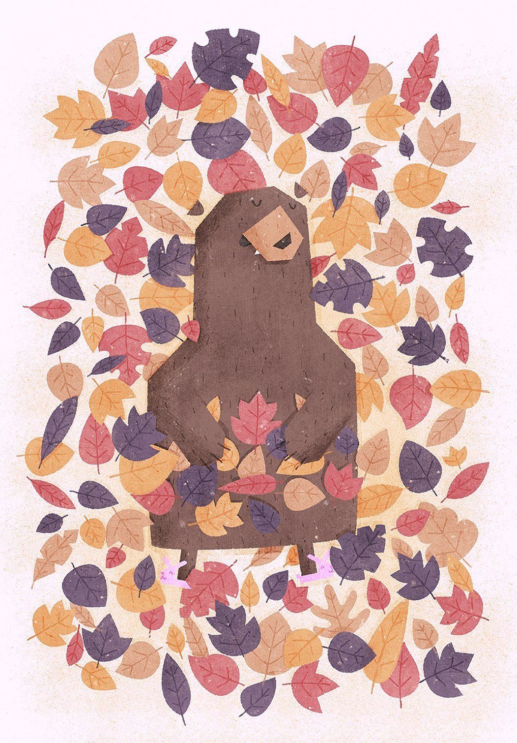 sleeping-bear-Illustration-Boney