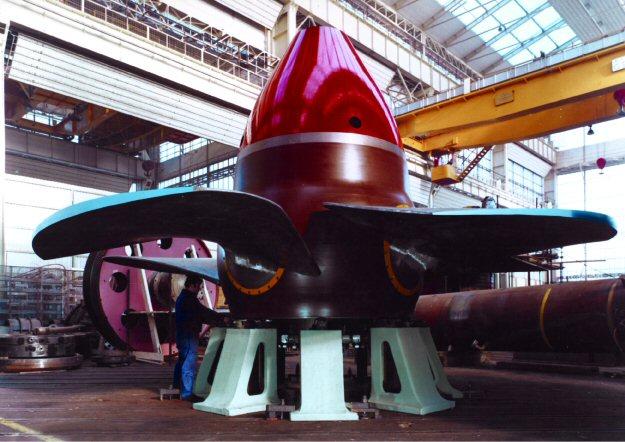 Girante Turbina Kaplan Franco Tosi Legnano