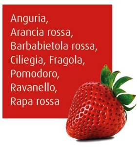 Frutta e verdura rossa