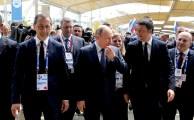 Putin Renzi Sala Expo 2015