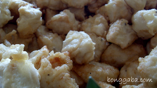 Deep Fried Tofu & Fish