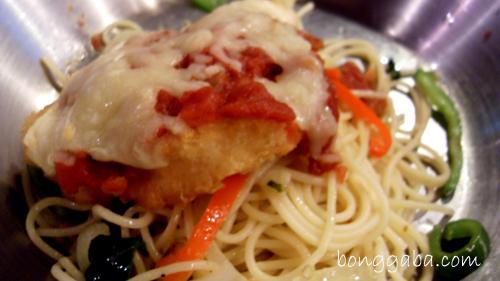 baked fish napolitana