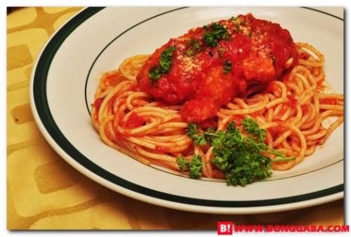Chicken Parmigiana b