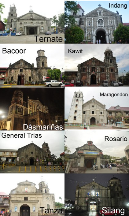 cavite old churches