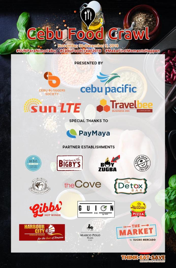 Cebu Food Crawl 2018