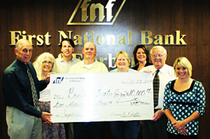 First National Bank Donates to Bonham