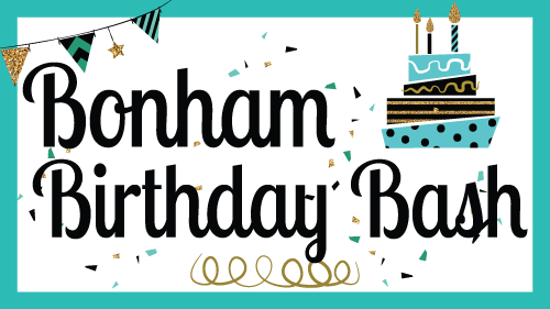 Bonham Birthday Bash 2017