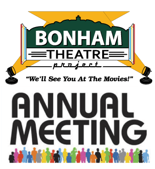Bonham Theatre Project 2019 Annual Meeting