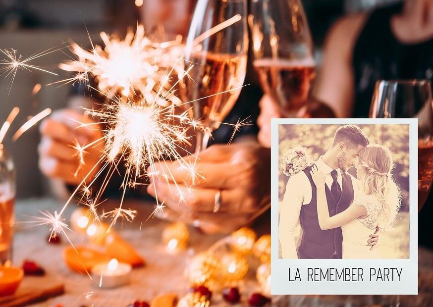 Anniversaire de Mariage : 10 idées pour organiser une Remember Party !
